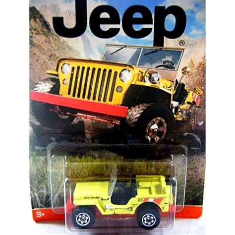 matchbox jeep willys matchbox jeep collection 1943 jeep willys lifeguard