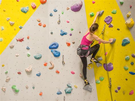 the best climbing walls in london