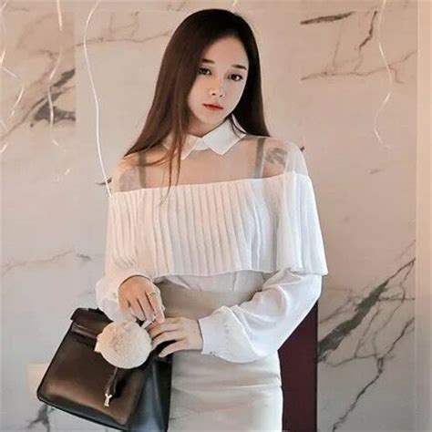 One Shoulder Top High Quality Fabric aliexpress buy high quality 2016 summer fashion new shoulder cape style pleated