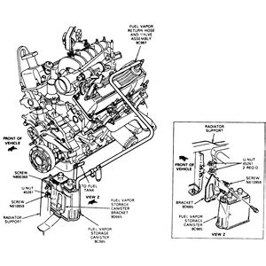 1994 grand 4 0l emission vacuum hose diagram evaporative emission system