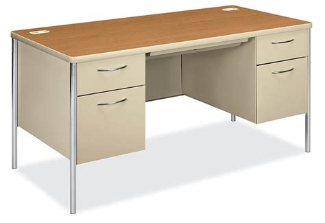 hon h88962 mentor series double pedestal desk