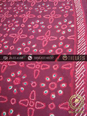 Pari Cape Batik jual batik cap tulis jogja motif merah kombinasi