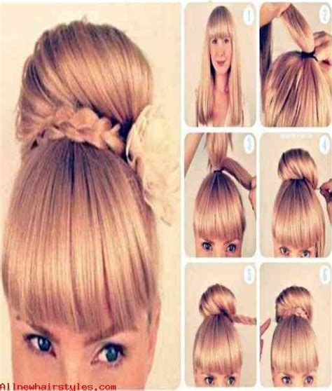 step by step womens hair cuts cute and easy girl hairstyles for school foto bugil
