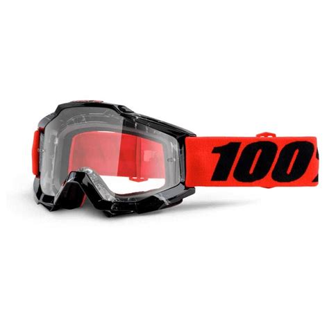 100 motocross goggles 2016 100 accuri mx motocross goggles inferno clear