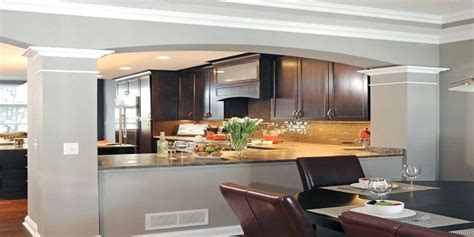 kitchen half wall ideas half wall ideas between kitchen and living room