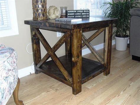 modern rustic end tables modern rustic end tables ideas all home decorations