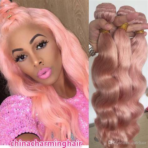 colored hair bundles colored hair weave bundles wave pink