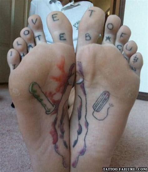 tattoo foot fail pics of funny tattoos tattoo failure