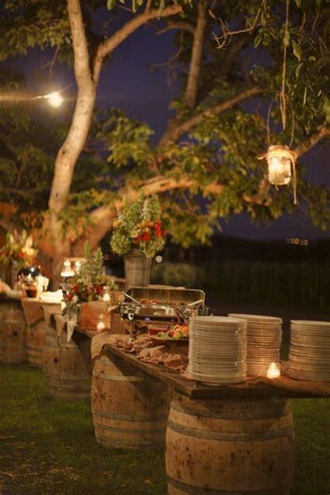 rustic backyard wedding 15 best rustic outdoor design ideas