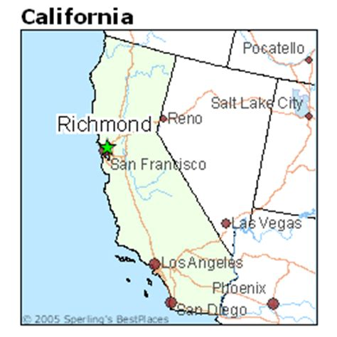 california map richmond best places to live in richmond california