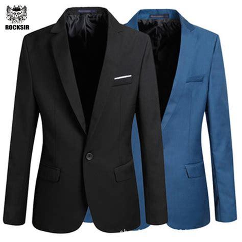 Blazer Formal Rocksir Casual Blazer Slim Fit Coat Suit Formal Jacket