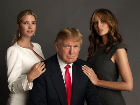 donald trump now melania ivanka ivana marla and the role of women in