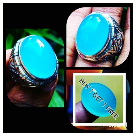 Promo Buy 1 Get 1 Free Cincin Batu Akik Kecubung Daun Wulung jual promo buy 1 get 1 free cincin batu akik