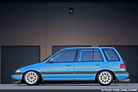 bisimoto wagovan sick turbo civic wagon