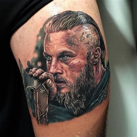 ragnar lothbrok tattoo 20 of the most beautiful movie inspired tattoos tattoo