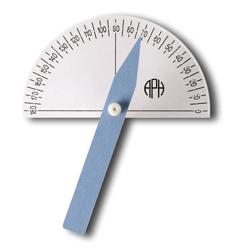 large print protractor uk product braille large print protractor