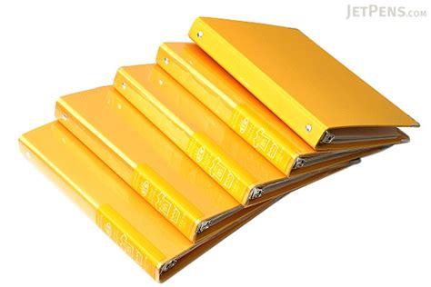 Binder A5 20ring A24 kokuyo color palette binder a5 20 rings yellow jetpens
