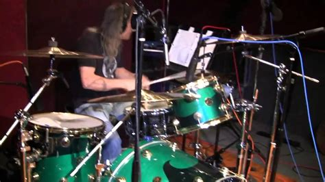 batterista vasco matt laug recording at studio city sound