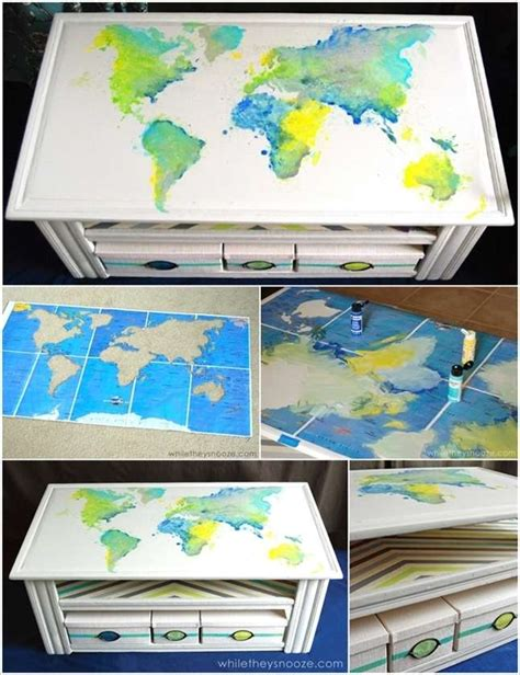 5 spectacular coffee table painting ideas that you d like