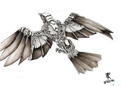 mechanical bird on behance