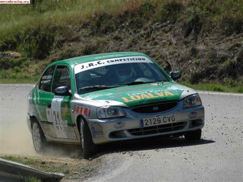 hyundai accent rally hyundai accent gt de rallyes venta de coches de