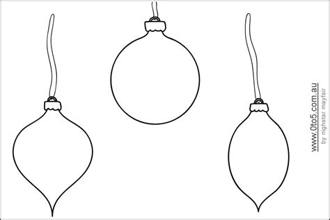 ornament templates printable ornament shapes this template shows