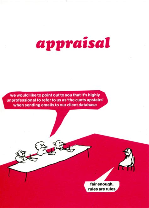 Modern Toss Birthday Cards Rude Card By Modern Toss Funny Work Appraisal