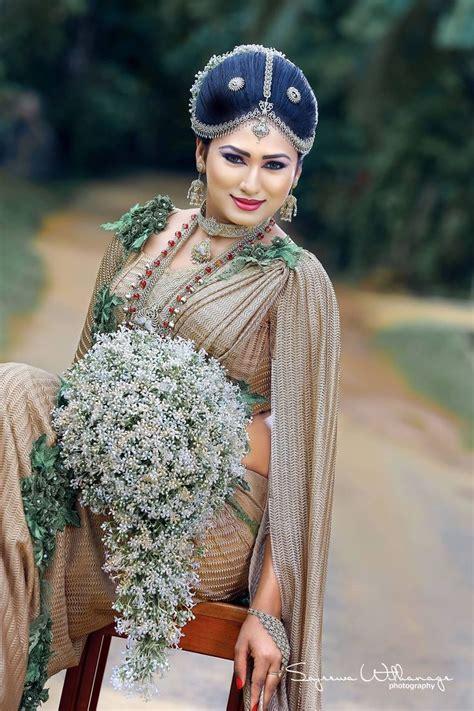 sri lankan fashion bridal dress design bridesmaid saree