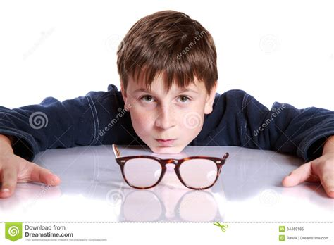 cute teen boy stock photos pictures royalty free cute boy with glasses and low vision royalty free stock photo