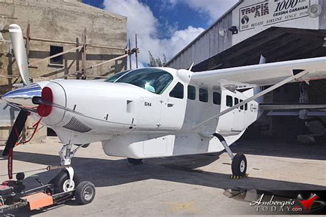 Cessna Service Letter Me75 23 Tropic Air Adds Next Generation Cessna Caravan To Its Fleet Ambergris Today Breaking News