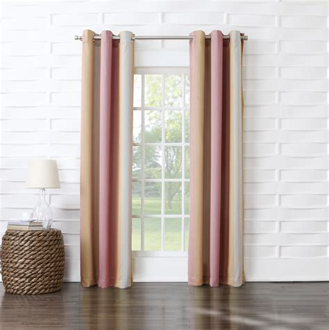 ombre window curtains sun zero millennial window curtain meredith ombre