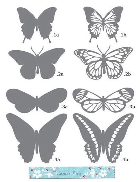 moldes para mariposas de papel mariposas de papel reciclaje paperblog