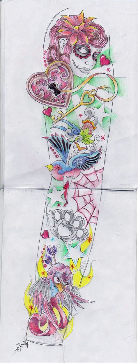 female half sleeve tattoos designs half sleeve designs cool tattoos bonbaden