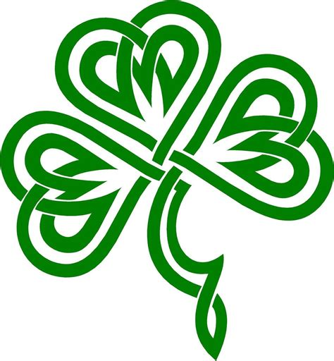 clover color celtic clover clover shamrock celtic knot decal