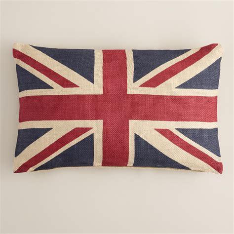 union jack cusions union jack flag lumbar pillow world market