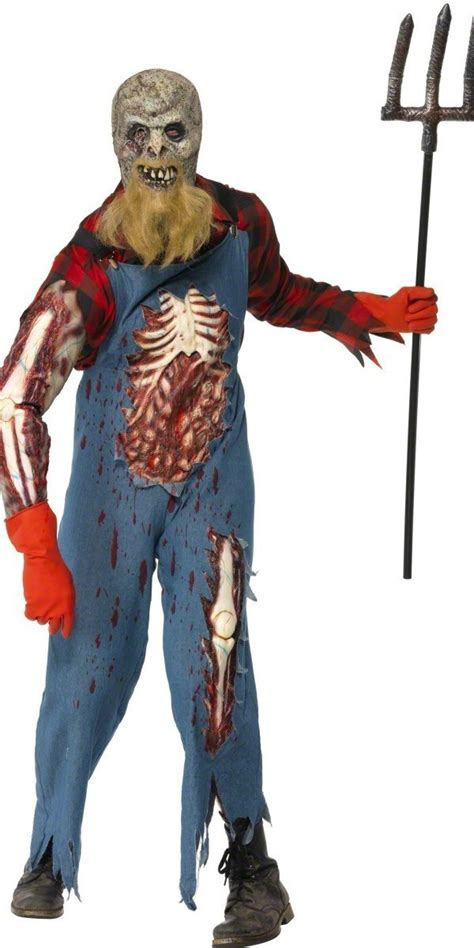 mens hillbilly zombie costume