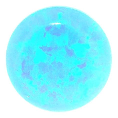 blue opal blue opal blue 5mm metal clay discount supply