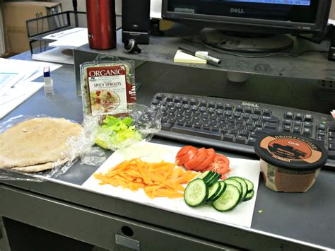Lunch At Desk by Health Update The Pursuit Of Healthiness Cooking With Csa