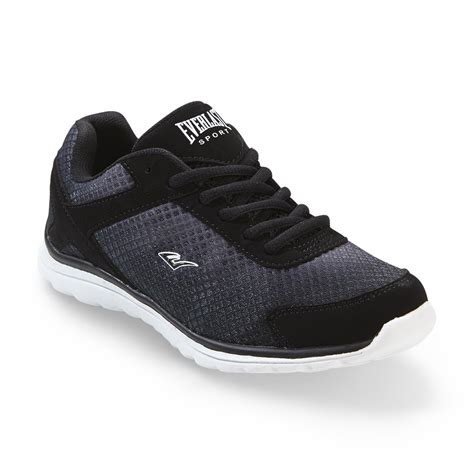 shoes at kmart everlast 174 sport s fusion running shoe black white