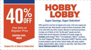 Hobby Lobby Entire Purchase Coupon » Home Design 2017