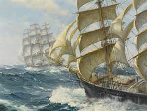 nautical painting marine oil paintings maritime time