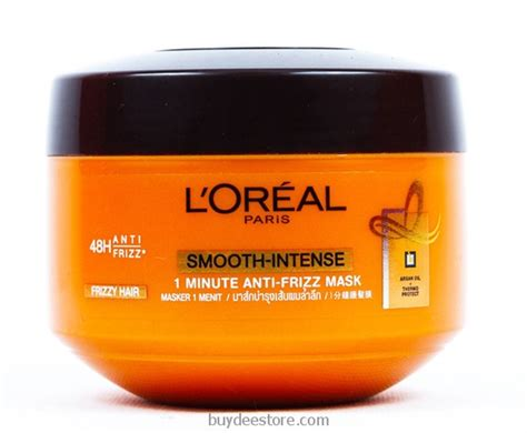 Harga Shoo Loreal Smooth Caring l oreal smooth anti frizz 1 minute caring