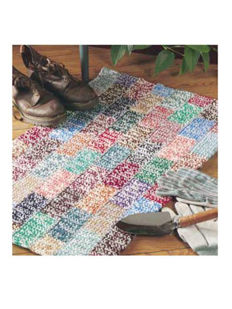 crochet rug patterns with yarn crochet crochet rug patterns scrap yarn rug free crochet pattern home decor