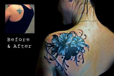 flower cover up tattoo designs 63 wonderful cover up shoulder tattoos