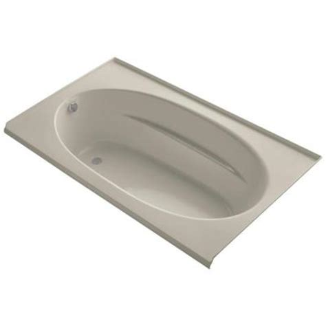 Tile Flange For Bathtub by Kohler Windward 6 Ft Left Drain With Tile Flange
