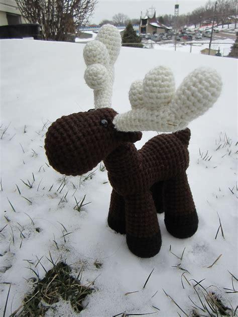 Amigurumi Moose Pattern Free | 16 crochet reindeer patterns page 2 of 2