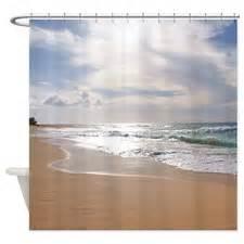 Beach shower curtains beach fabric shower curtain liner
