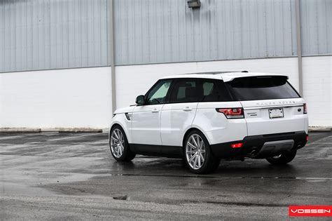 wheels range rover 2014 range rover sport gets vossen wheels autoevolution