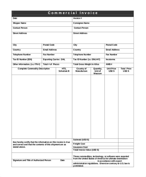 invoice template usa manual invoice template