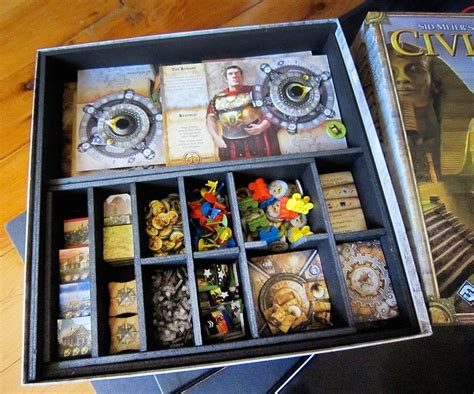 Tiny Epic Quest Box Organiser Insert sid meier s civilization box insert by universal